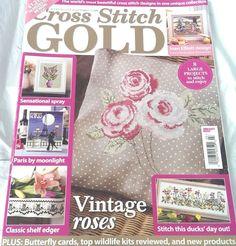 Cross Stitch Gold Magazine October 2013 Issue 38 Joan Elliott UK Edition