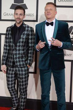 Macklemore and Ryan Lewis #Grammys #bestdressed