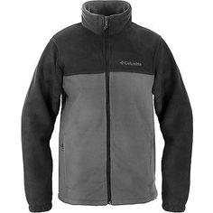 Columbia Steens Mountain Full Zip 2.0 Mens WM3220-011 Black Grey Fleece Size 2XL