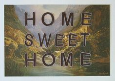 JP Meyer - Home Sweet Home, Embroidery on Print Sweet Home, Embroidery, Painting, Art, Art Background, Needlepoint, House Beautiful, Painting Art, Kunst