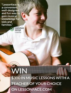 Win $300 in music lessons with a teacher of your choice from Lessonface. lessonface.com/300