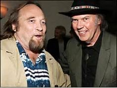 Neil Young, right, and longtime collaborator Stephen Stills ...