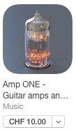 Amp ONE  Amp Simulation und FX für die Gitarre