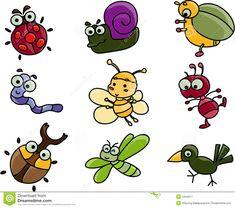 cute-cartoon-many-bugs-4434017.jpg (1300×1151)