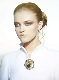 Vlada Roslyakova at Valentino Haute Couture Fall 2009
