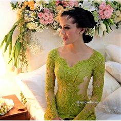 Wedding Photography Modern Lace Dresses Ideas For 2019 Kebaya Muslim, Kebaya Hijab, Kebaya Brokat, Kebaya Dress, Batik Kebaya, Batik Dress, Kimono, Javanese Wedding, Indonesian Wedding