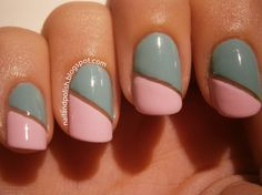 Two Tone Nails