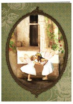 Fairy Kisses...Greeting Card...Charlotte Bird