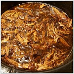 Healthy Slow Cooker, Slow Cooker Pork, Healthy Crockpot Recipes, Slow Cooker Recipes, Cooking Recipes, Easy Japanese Recipes, Asian Recipes, Minions, Pulled Pork