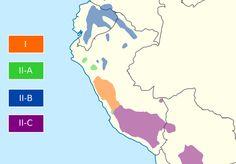 Quechua-Speaking Regions of Peru