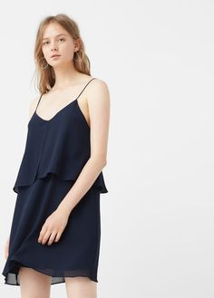 Vestido doble capa