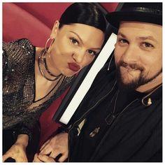 ''My mate Joel Madden.''--Jessie J. Jessie J Singer, Jessi J, Joel Madden, Happy People, Captain Hat, Celebrities, Lady, Fashion, Moda