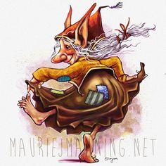 Goblin Lass  Clip Studio Paint  #DigitalArt #fantasy #digital #goblin #funny #cute #illustration #drawing #digital