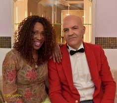 Marco Eugenio Di Giandomenico e Cecilia Gayle (Milano, 23 marzo 2016)