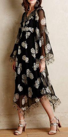 Kuray Silk Dress