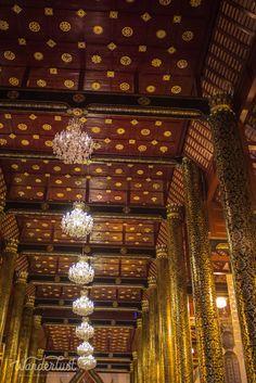 Temple interior, Chiang Mai