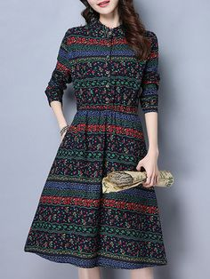 Shop best vintage dresses outfits at online store. All vintage style dresses are available for different occasions Page Modest Dresses, Casual Dresses, Mini Dresses, Dress Outfits, Fashion Dresses, Cheap Summer Dresses, Moda Chic, Batik Dress, Fashion Fabric