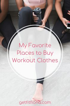 My Favorite Places to Buy Workout Clothes - Get Fit Fiona Workout Gear, Gym Workouts, New Balance Store, Squats And Lunges, Hash Tag, Fitness Gear, How To Do Yoga, Sport Outfits, Healthy Living