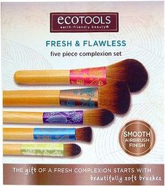 Eco Tools Fresh & Flawless 5 Pc Complexion Set Ulta.com - Cosmetics, Fragrance, Salon and Beauty Gifts