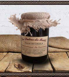 Los Dulces de Maite Dulce de Ciruela Producto artesanal, sin conservantes. Peso Neto: 400 g. Industria Argentina