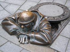 It's more about a moving manhole lid  via @ACreativeMusing