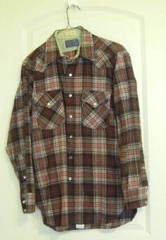 Vintage Pendleton Shirt Mens 70's 80's Western by TallulahsVintage, $25.00