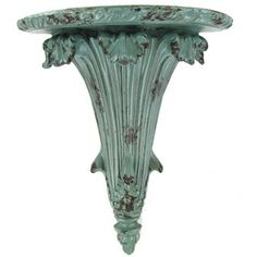 Antique Teal Small Wall Shelf | Shop Hobby Lobby