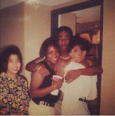 A young Tupac Shakur