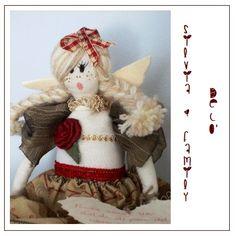 Bambola natalizia http://silviaefamilydeco.blogspot.it/