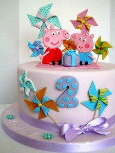 Peppa Pig Cake - CakesDecor