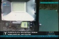 Destruyen Y Roban Mobiliario Del Anfiteatro De Puerto Plata