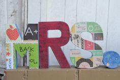 """Teacher Gift, Custom Teacher Letters - 8"""" Letters - pinned by pin4etsy.com"""