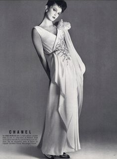 Chanel evening gowns | Chanel 1982 Evening Gown Fashion Photography | Hprints.com