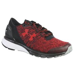 0adb538b88ec66 UNDER ARMOUR WOMEN S ATHLETIC SHOES TEAM CHARGED BANDIT 2 RED BLACK WHITE  5.5 M