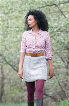 Bryn Mawr Skirt, would love to be able to make this some day!
