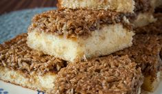 Drømmekage - Dänischer Kokos-Karamellkuchen