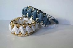 Bracciali Soft Weaves 7€ mylivelycreation@libero.it