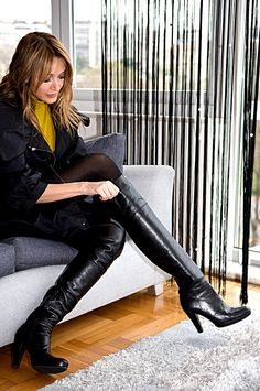 Lover Of Gorgeous Thigh High Boots, High Heel Boots, Over The Knee Boots, Heeled Boots, Sexy Boots, Cool Boots, Stiletto Boots, Thigh Highs, Fashion Boots