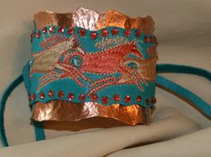 Copper Indian Pony Cuff Bracelet | Meredith Lockhart Collections