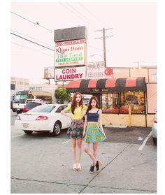 Kawaii korean fashion girls ❤️