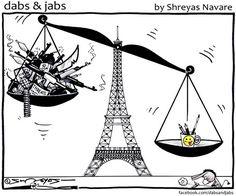 #CharlieHebdo #Illustrators #Cartoonists #Paris #LibertadDePrensa #ShreyasNavare
