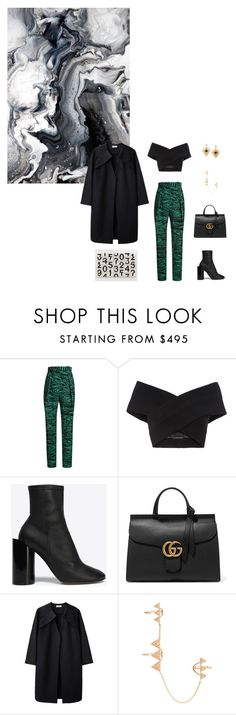 """""""Untitled #192"""" by oneweirdtrick ❤ liked on Polyvore featuring Anna Sheffield, Proenza Schouler, Kalmanovich, Maison Margiela, Gucci, A Détacher, Elise Dray and Kilian"""