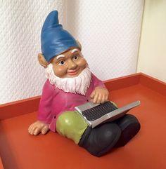 Meet Chauncey the computing yard gnome. #HelpMeForget