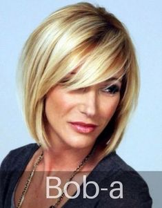 Top Hairstyles For Women Over 50 in 2019 - My list of women's hairstyles Layered Bob Hairstyles, Haircuts For Fine Hair, Short Hairstyles For Women, Straight Hairstyles, Short Haircuts, Pretty Hairstyles, Hairstyles For Over 40, Medium Haircuts, Hairstyles Haircuts