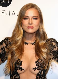 Tanya Mityushina attends the 25th Annual Elton John AIDS Foundation's Academy Awards Viewing Party at The City of West Hollywood Park on February 26, 2017 in West Hollywood, California.