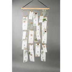 Bastelset Hängeboard Ringe, 42 x 62 x 2 cm, KW 37 lieferbar, 29, Ringe Gold, Calendar, Holiday Decor, Advent Calenders, Postcards, Crafting, Life Planner