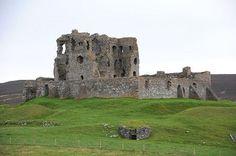 Auchindoun Castle from the West. Побудуй свій власний замок http://eko-igry.com.ua/products/category/1658731