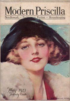 Sydneyflapper@tumblr: Modern Priscilla, May 1923 cover.