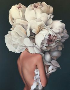 Women morphed with flower – painting by Amy Judd Mit Blumen gemalte Frauen von Amy Judd Painting Inspiration, Art Inspo, Wall Canvas, Canvas Art, Diy Canvas, Abstract Flowers, Art Painting Flowers, Flower Paintings, Abstract Art
