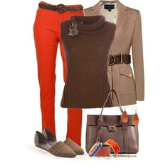 """""""FALL COLORS...."""" by tufootballmom on Polyvore"""